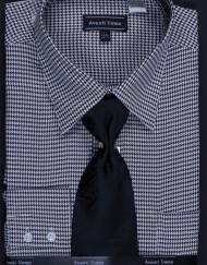 houndstooth dress shirt