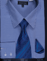 Houndstooth dress shirt