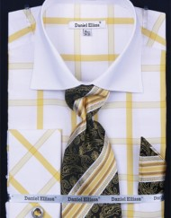 DanielEllissa-DS3768P2-ShirtChecker-Men-Gold