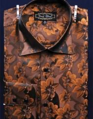 Floral print mens shirts