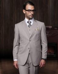 Mens tan 3 piece suit