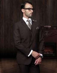 Mens Brown suit sale