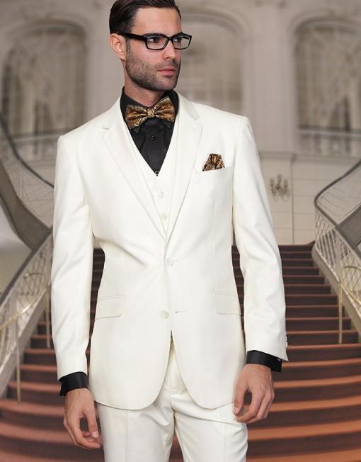 Mens off white suit