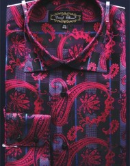 Mens Fuchsia Shirt