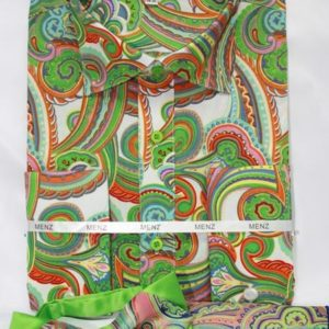 mens lime green paisley dress shirt