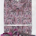 Mens lavender paisley dress shirt