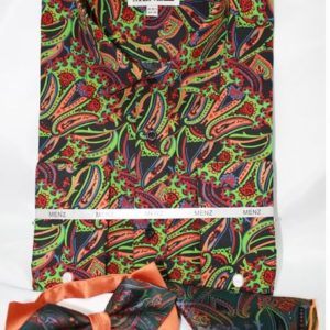 mens paisley dress shirt