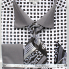 Black and White patterned shirt