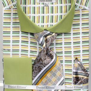 Mens mint green striped shirt
