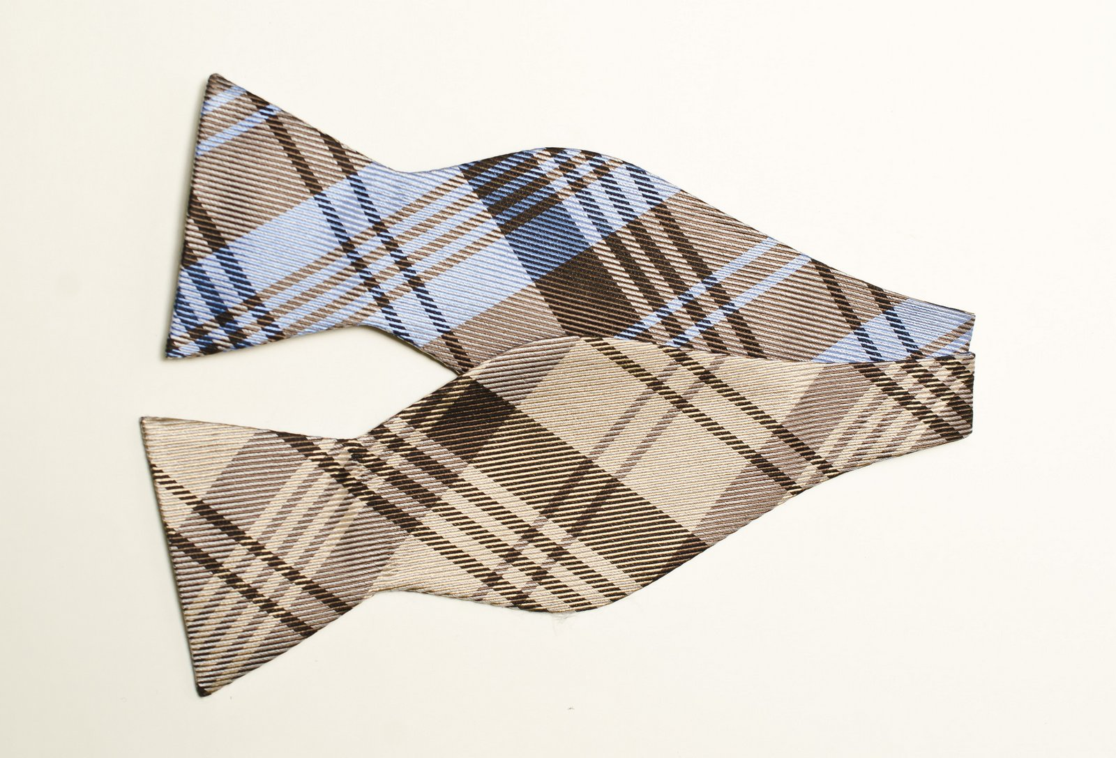 brown and blue plaid bow tie. Black Bedroom Furniture Sets. Home Design Ideas